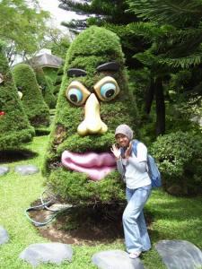 kalau tamannya di buat seperti ini pasti Alfi seneng deh