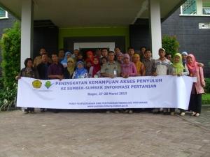 Pelatihan Akses Penyuluh Ke Sumber Informasi Pertanian