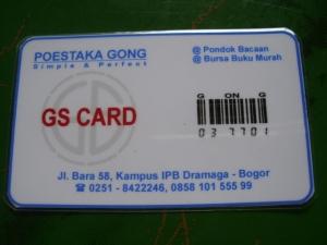 Kartu anggota GongsongO