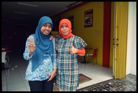 Bersama Ibu Hania Rahma, Owner Restoran Bebek Judes Cabang Kota Bogor