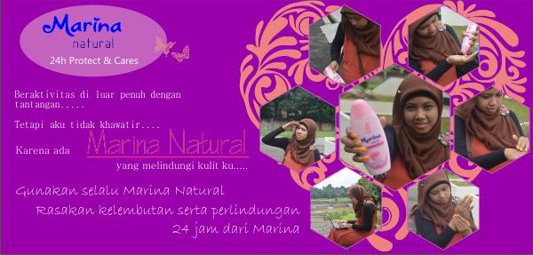Marina Natural 24h, Melindungi kulit hingga 24 jam