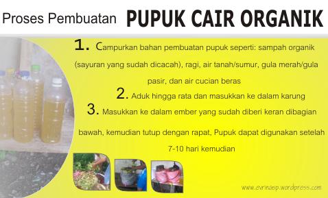 Pembuatan Pupuk Cair Organik
