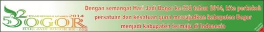 Dirgahayu Kabupaten Bogor -3 Juni 2014-