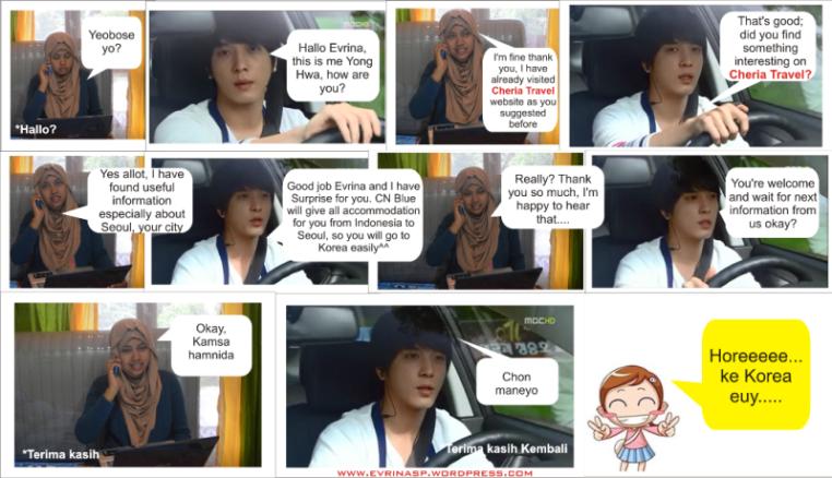 Percakapan dengan Yong Hwa